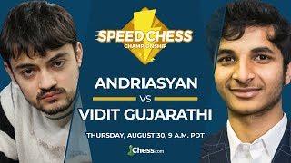 2018 Speed Chess Championship: Andriasyan Vs Vidit
