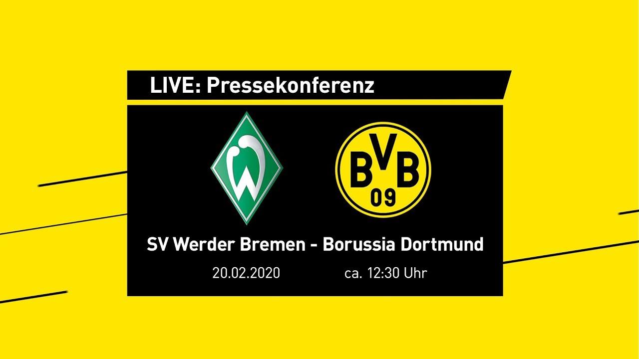 LIVE: Pressekonferenz mit Lucien Favre | SV Werder Bremen - BVB