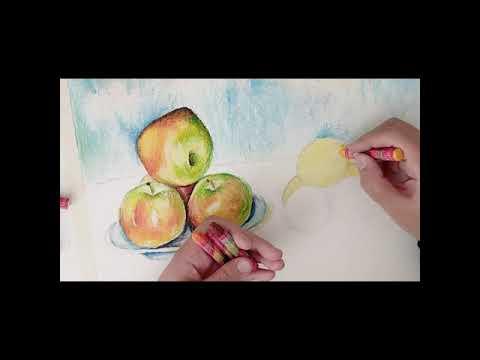 Vazoda gül resmi çiçek çizimi - Karakalem Çizim Çalışması