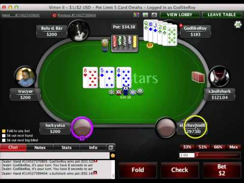 GodlikeRoy - 5 Card Omaha - Learn Poker