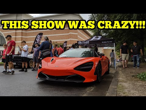 I CAN'T BELIEVE WHAT I SAW AT THIS CAR SHOW!!! IT WAS EPIC!!