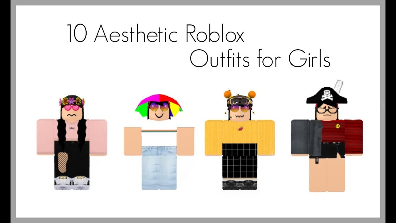 10 AESTHETIC ROBLOX OUTFITS FOR GIRLS!!!-Cqctux