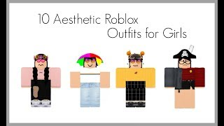 aesthetic roblox outfits!! ✰