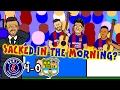 ENRIQUE - SACKED IN THE MORNING? (PSG vs Barcelona 4-0 2017) 🔴MSN El Aprendiz PILOT🔵