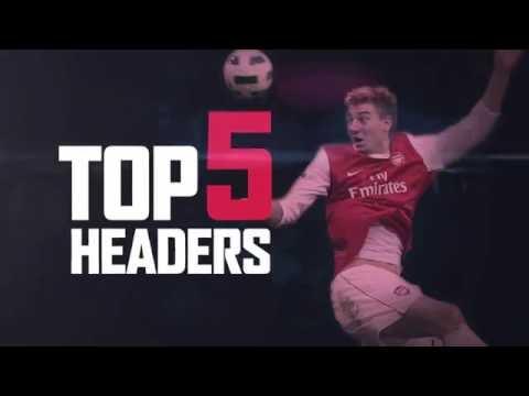 Arsenal - top five headers