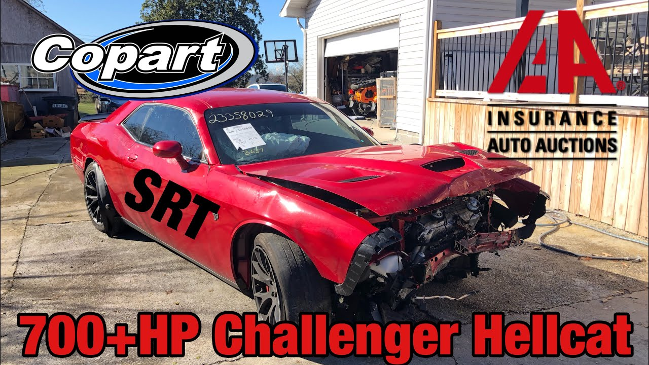 I Bought A Wrecked Dodge Challenger Hellcat At Salvage Auction I M