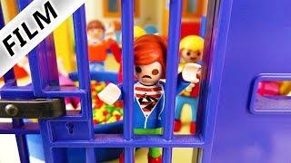 Playmobil Film Deutsch - KITA WIRD GEFÄNGNIS! JULIAN EINGESPERRT! Kinderserie Familie Vogel