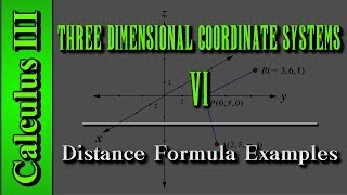 Calculus III: Three Dimensional Coordinate Systems (Level 6 of 10)   Distance Formula Examples