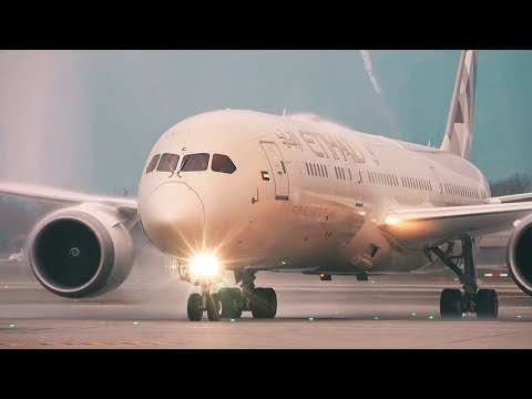 Our First Boeing 787 Dreamliner Flight to Geneva | Etihad Airways