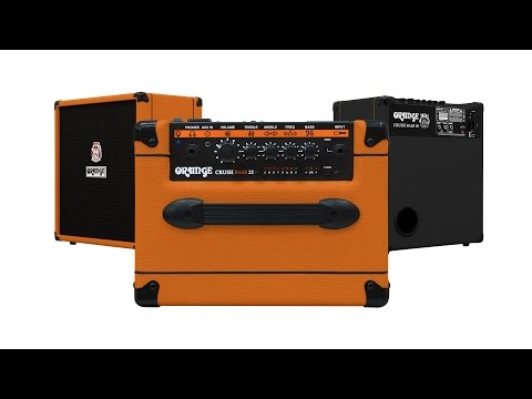 Orange Crush Bass Amps - Series Overview