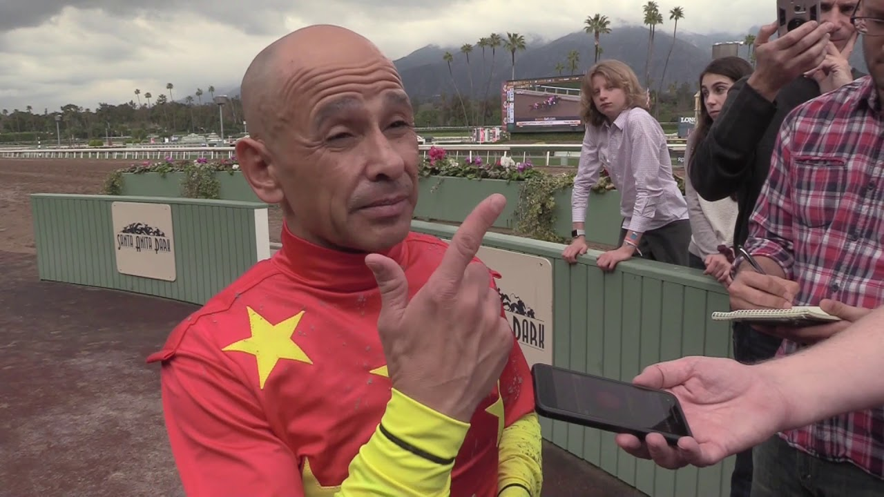 Jockey Mike Smith Interview Following Win By Justify At