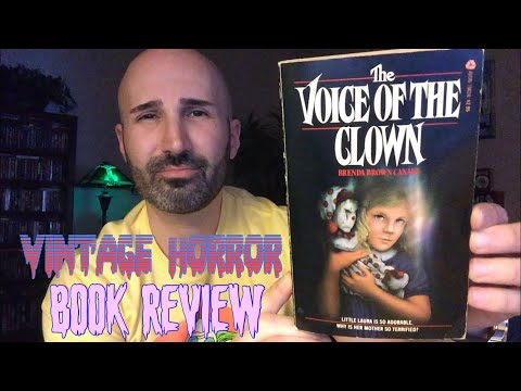 The Voice of the Clown (1982, Avon) by Brenda Brown Canary | Vintage Horror Book Review