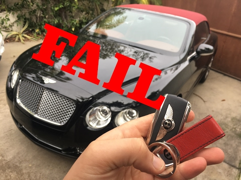 MY BENTLEY REVIEW FAIL...