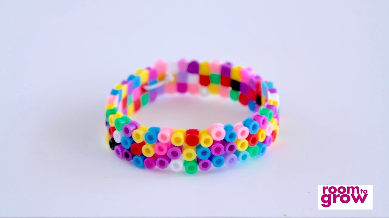 pinterest epic bead rave and perler pin cuff kandi beads bracelet