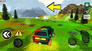 """Offroad Driving Simulator 4x4 Jeep Mudding """"Jeep Wrangler"""" Android Gameplay Video #3"""