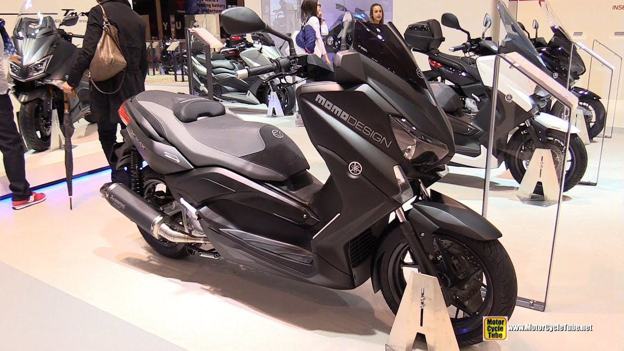 2015 yamaha x max 250 momo design scooter walkaround. Black Bedroom Furniture Sets. Home Design Ideas