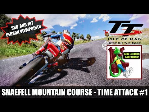 TT ISLE OF MAN RIDE ON THE EDGE TIME ATTACK #1