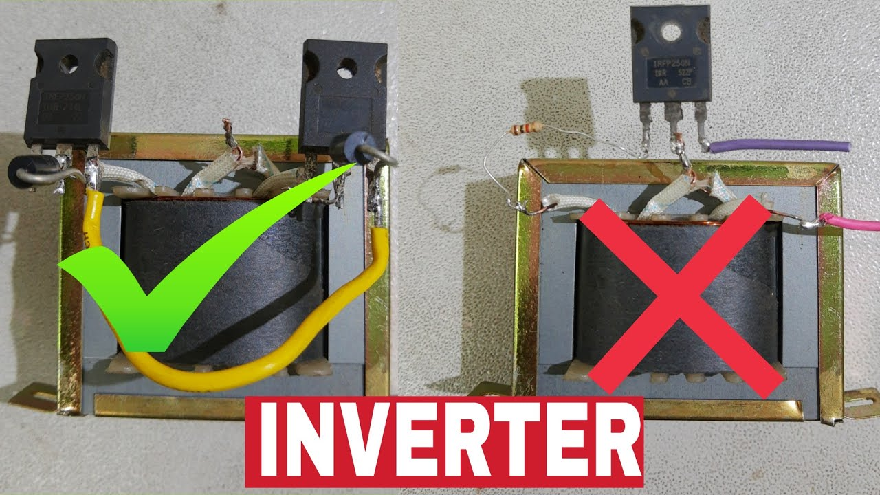 How To Make A Mini Inverter At Home