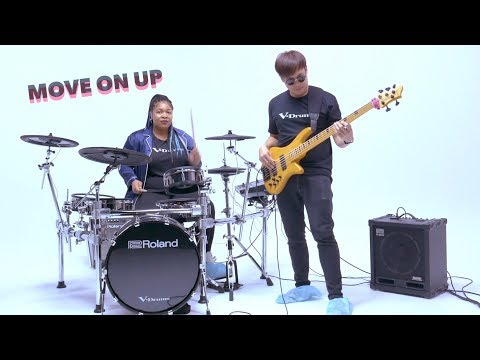 Move On Up | Grooving while keeping the floor CLEAN