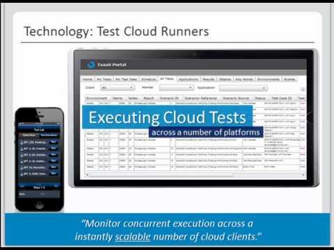 Webinar - Test Automation as a Service