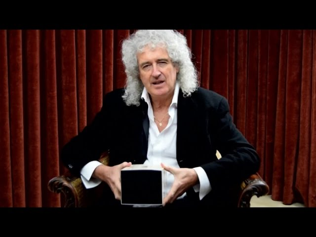 Brian May presents the LSC's new product, Victorian Gems