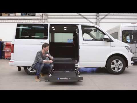 【ブラウンアビリティ公式動画】 UVL600 車いすリフト