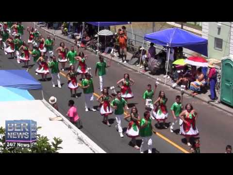 Vasco Da Gama Club In The Bermuda Day Parade, May 26 2014