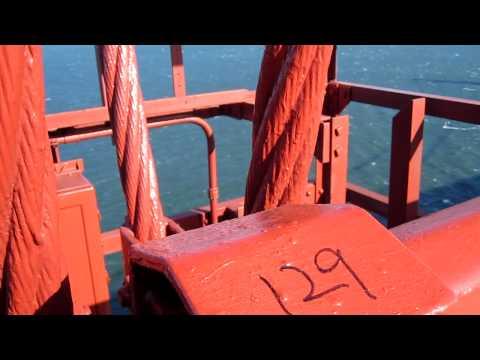 Golden Gate Bridge Swaying