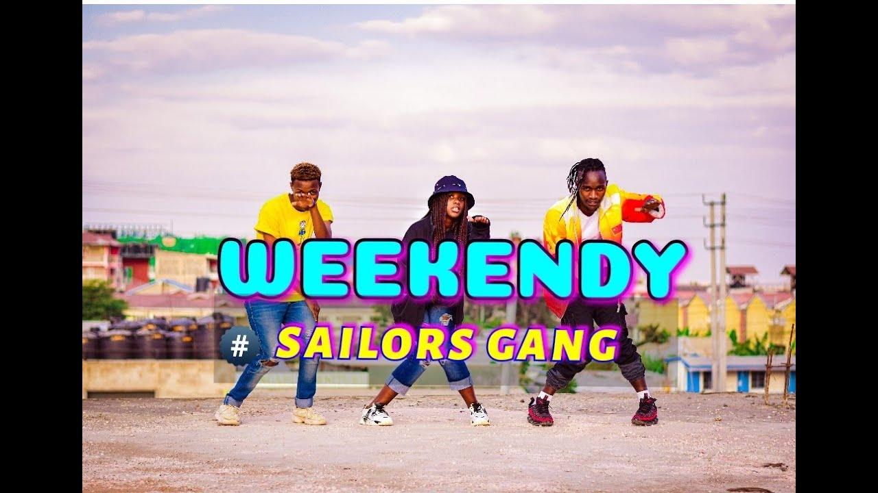 SAILORS - WEEKENDY (Official Dance Video)#gengetone#trending  |Odi dance