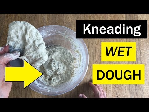 """How to """"Knead"""" a SUPER WET Dough - Bread Tip 84 - Bake with Jack"""
