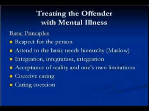 Reentry and Mental Health