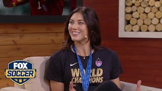 Hope Solo talks about her third World Cup appearance