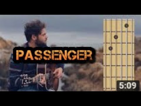 Let Her Go Passenger Guitar Chords Youtube