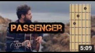 let her go passenger guitar chords