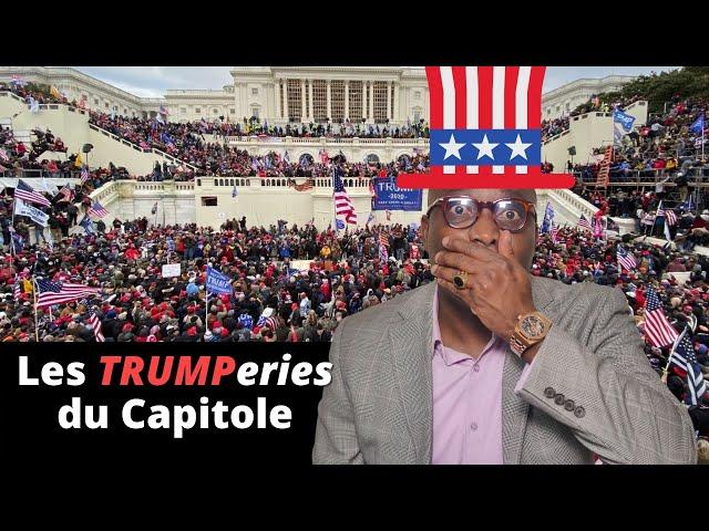 Dr JFA: Les TRUMPeries du Capitole OU la laideur des USA exposée