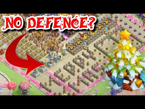 Best Defence - No Defence? Festive Guild Wars Castle Clash