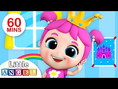 Mary Had a Little Lamb, Wheels on the Bus, Ba Shark  Nursery Rhymes Compilation  Little Angel
