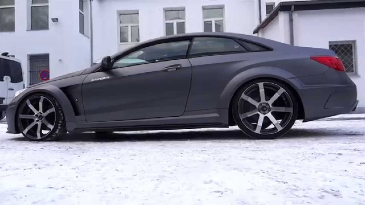 Tc Concepts E500 Amg Coupe Exesor Widebody Sound Exhaustsystem