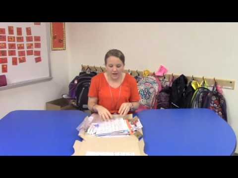 Northside Primary School First Grade Summer Learning Box Instructions