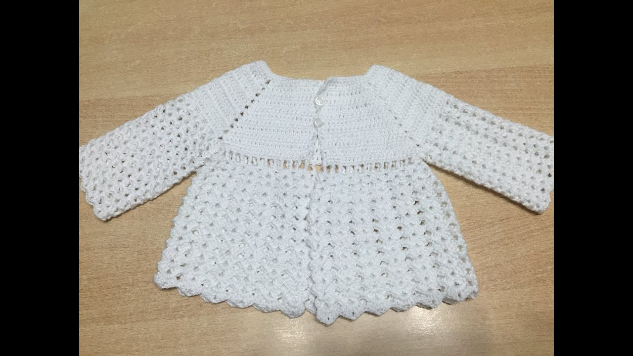 Super Tuto facile brassiere, veste bb au crochet - YouTube FO67