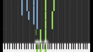 How to play Berceuse Resident Evil Cove Veronica Synthesia