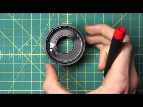 Canon FL 50mm f1.4 II Lens Disassembly