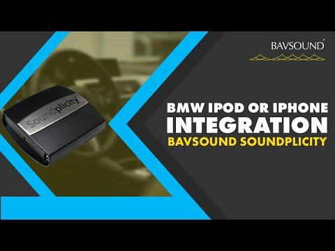BAVSOUND  Using Your iPod or iPhone in Your BMW  Mini  DUO  Mediabridgemov