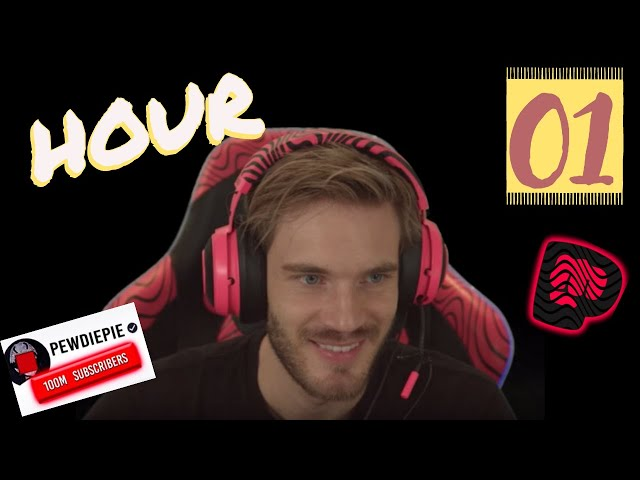 [Official] PewDiePie 12 Hour Livestream Playing  Minecraft on DLive ( the 1st hour)