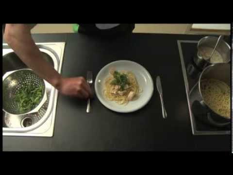 GORILLA Rezept - Lachs Spaghetti (9)
