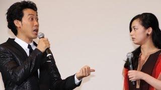 俳優の大泉洋さんが5月11日、東京都内で行われた映画「探偵はBARにいる2...