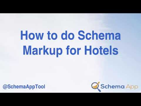 How to do Schema Markup (JSON-LD) for a Hotel