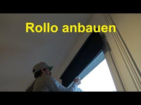 Anleitung Rollo anbringen - Rollo Montage - Rollo anbauen