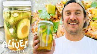 Brad Makes Pickled Avocado | It's Alive | Bon Appêtit