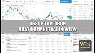 Обзор торговой платформы TradingView. Возможности и функционал! Online графики для бинарных опционов